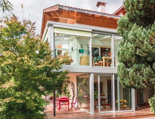 Wohnliche Balkonverglasungen